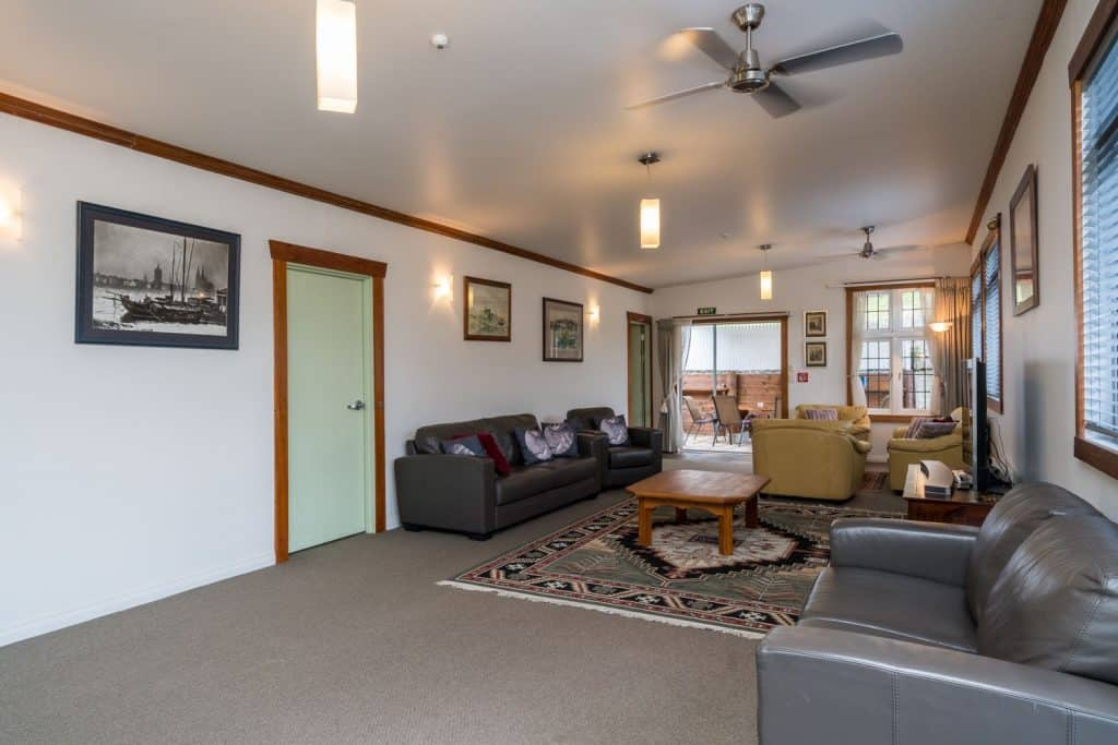 Shared Lounge with your Whangarei Accommodation